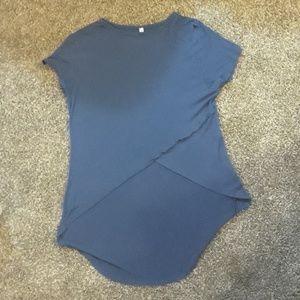 A blue shirt